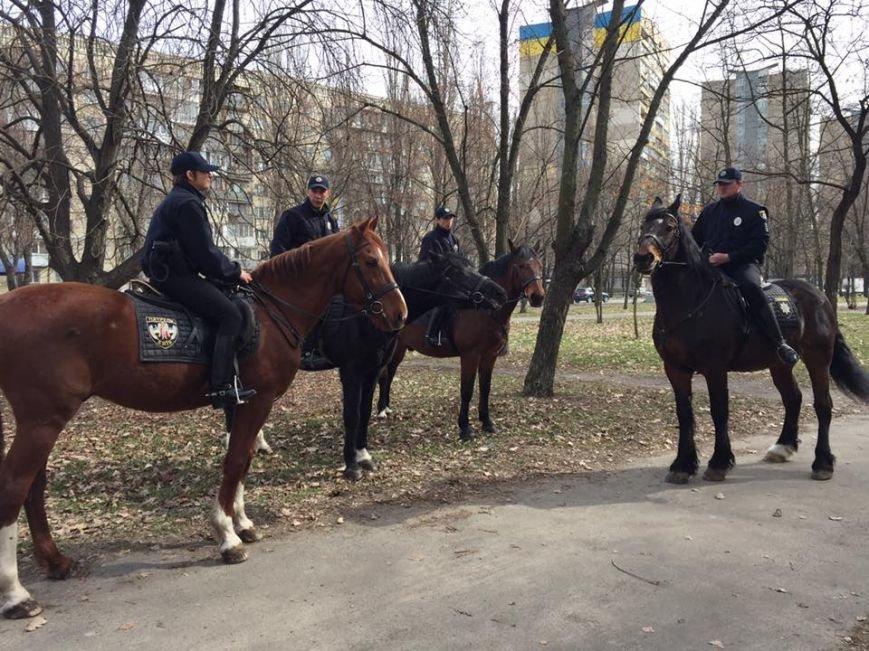 На Русановке появилась конная полиция (ФОТОФАКТ), фото-3
