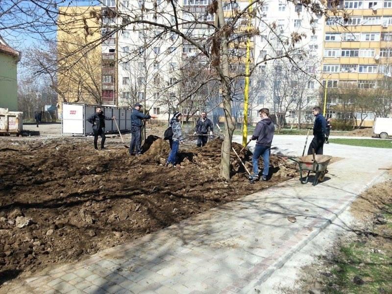 Як Андріїв із місцевими депутатами Ужгород прибирали: фото, фото-5