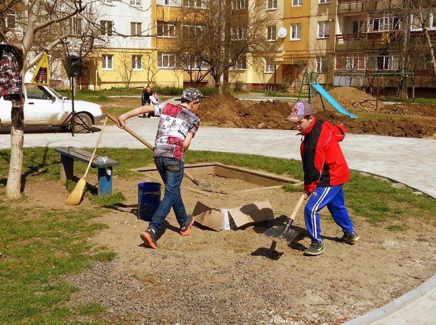Як Андріїв із місцевими депутатами Ужгород прибирали: фото, фото-2