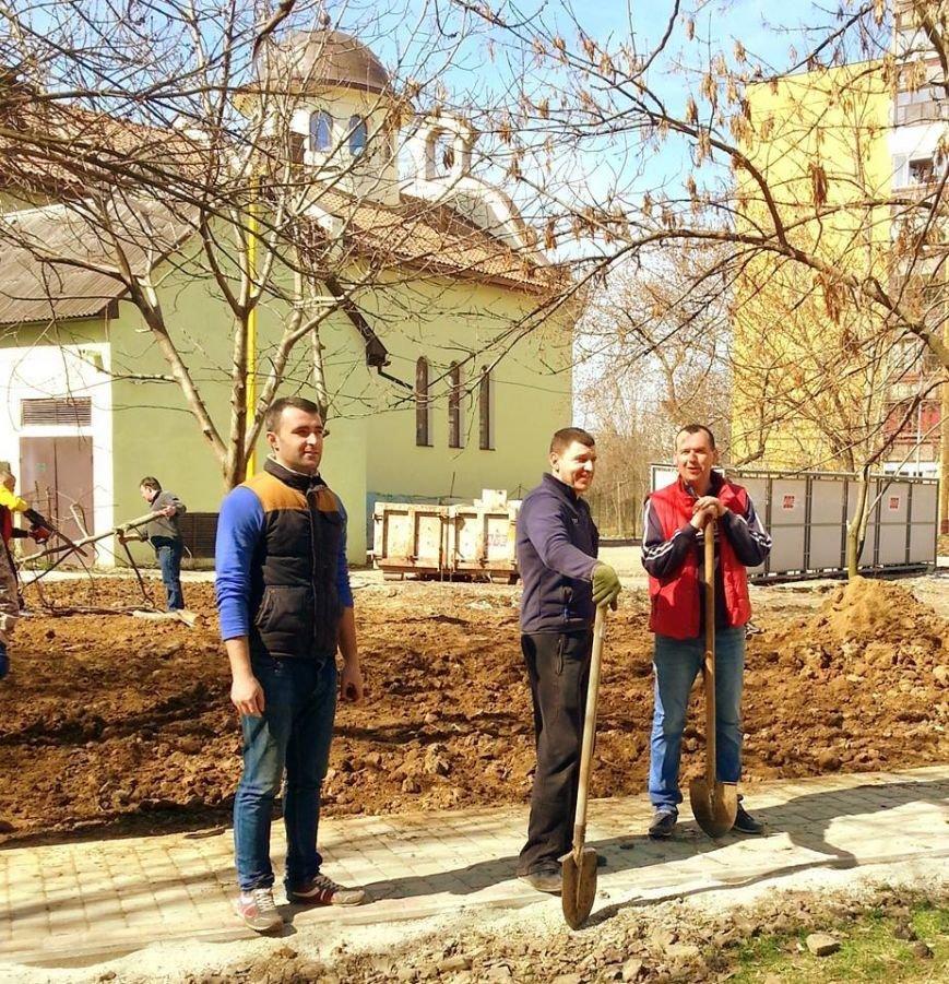 Як Андріїв із місцевими депутатами Ужгород прибирали: фото, фото-4