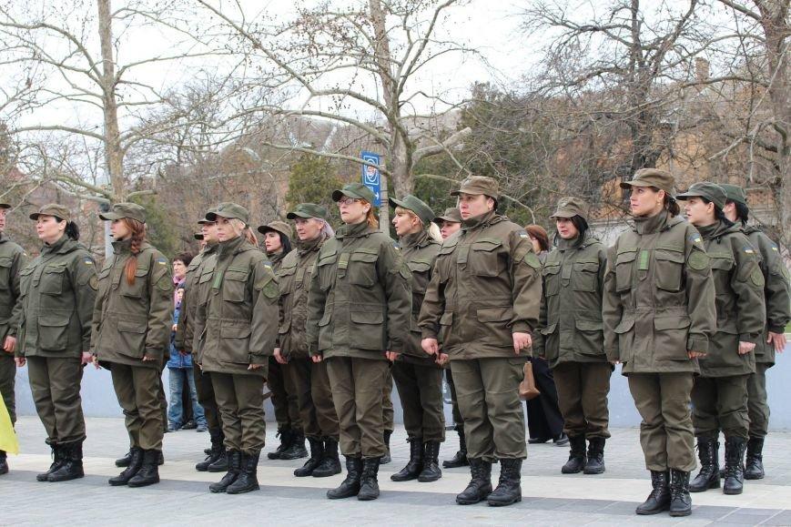В Херсоні відбувся марш військових (фото), фото-3