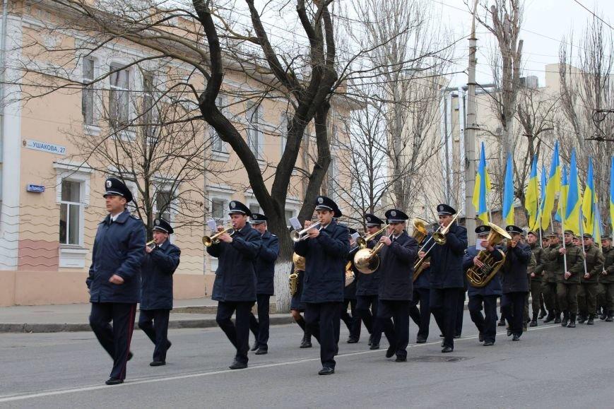 В Херсоні відбувся марш військових (фото), фото-2