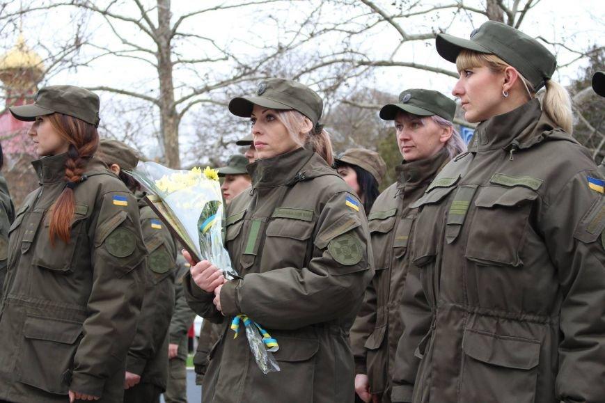 В Херсоні відбувся марш військових (фото), фото-4