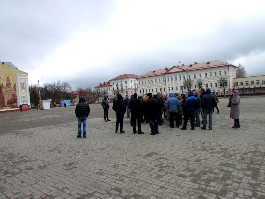 """В Полоцке несколько десятков человек митинговали против декрета """"о тунеядцах"""", фото-3"""