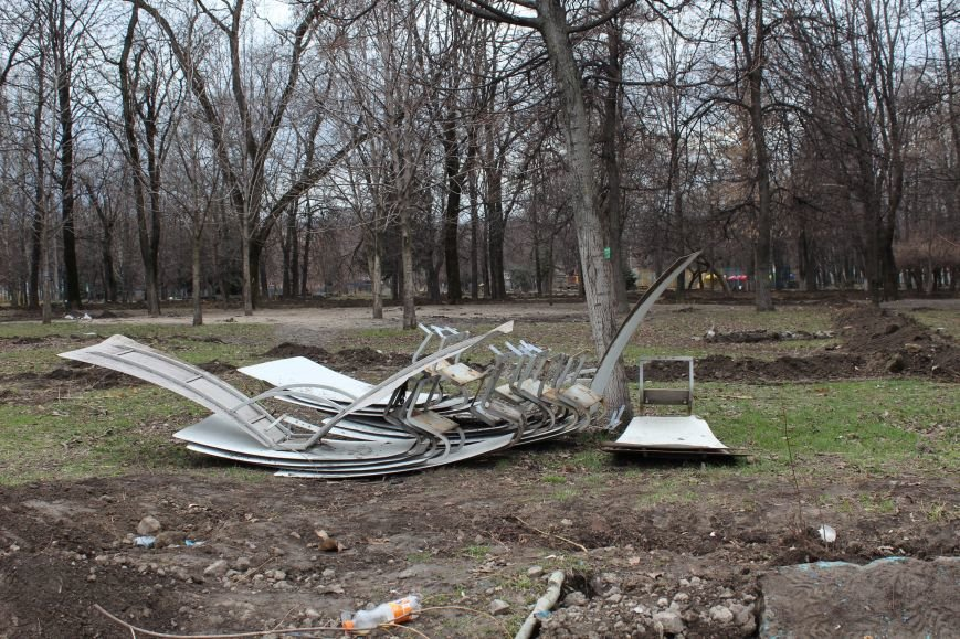 Центральный парк Каменского сейчас не узнать, фото-10