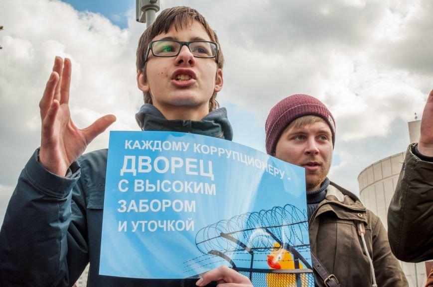 «Мы пришли с воздушными шарами и миром». Как в Белгороде прошёл митинг против коррупции, фото-3