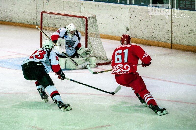 ХК «Ростов» одержал победу в первом матче полуфинала, фото-1