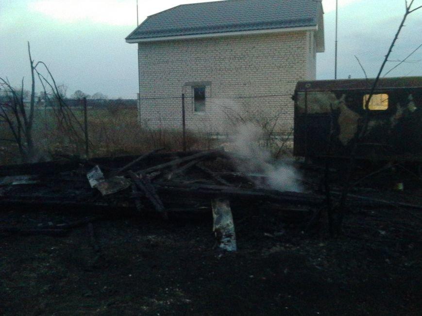 На выходные пожарные тушили Кременчугский район (ФОТО), фото-1