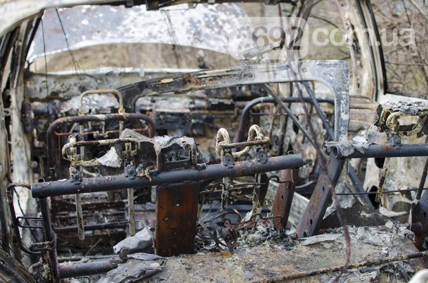 На улице Брестской в Каменском сгорел автомобиль, фото-3