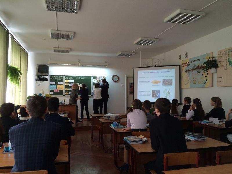 На базі Новоград-Волинської ЗОШ №7 пройшов міський семінар-практикум учителів біології, фото-1