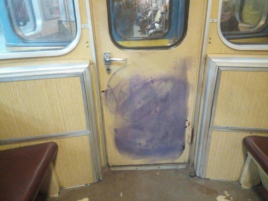Творчество или вандализм: как в киевском метро борются с граффитчиками (ФОТО), фото-2