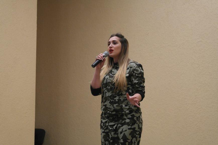 Для будущих педагогов Покровска прошел концерт, посвященный событиям на Донбассе, фото-10