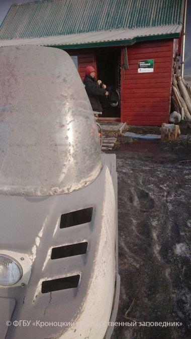 Пеплом Камбального присыпало кордон Южно-Камчатского заказника, фото-2