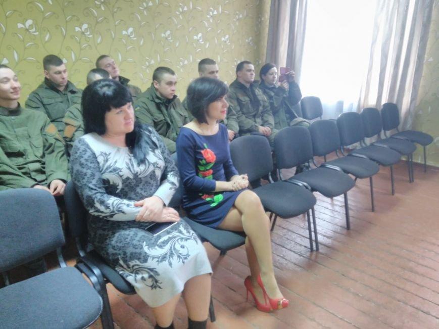 У ЗОШ №15 міста Покровськ відбулися урочистості до Дня Нацгвардії, фото-5