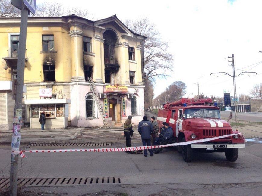 В Каменском произошел ночной пожар, фото-2