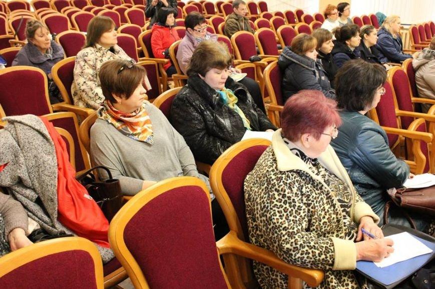 В Покровске пенсионный фонд совместно с налоговой провели семинар для плательщиков, фото-1