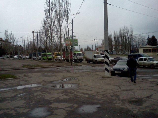 Упавшее дерево в Краматорске стало причиной огромной пробки, фото-2