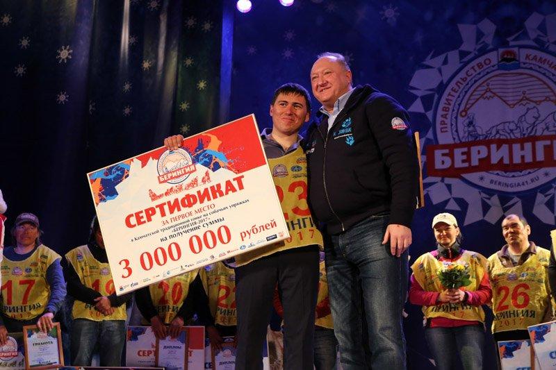 Валентин Левковский потратит берингийский приз на питомник ездовых собак, фото-1
