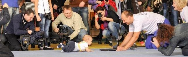 Чемпионат по ползанию - фото