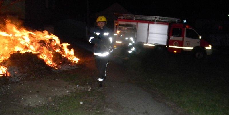 На Херсонщині палає сухий очерет та сміття (фото), фото-2