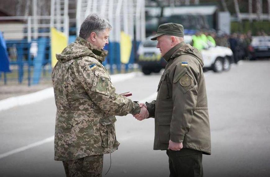 Командир кременчугских нацгвардейцев награждён медалью «За безупречную службу» III степени, фото-2