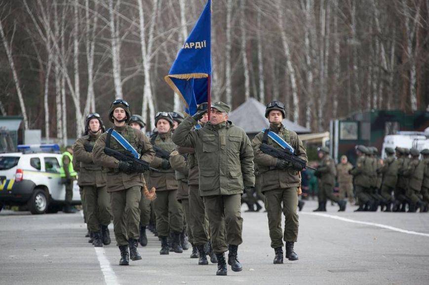Командир кременчугских нацгвардейцев награждён медалью «За безупречную службу» III степени, фото-4
