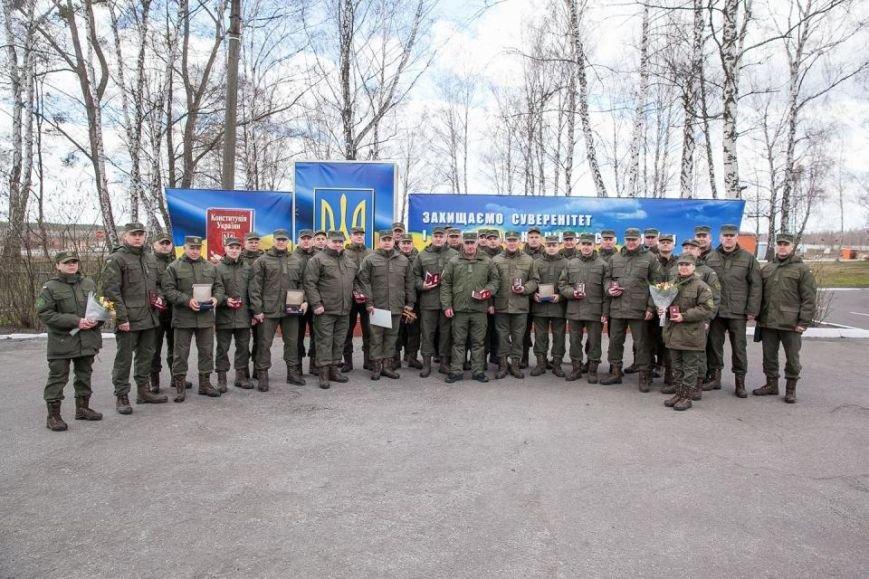 Командир кременчугских нацгвардейцев награждён медалью «За безупречную службу» III степени, фото-1