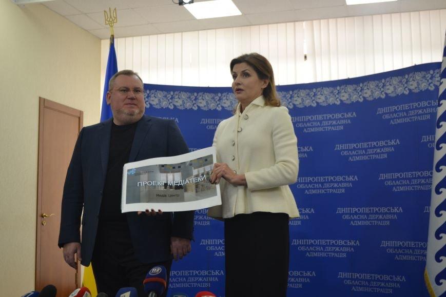 О чем жена Петра Порошенко общалась с губернатором Днепропетровской области Валентином Резниченко (ФОТОРЕПОРТАЖ), фото-2