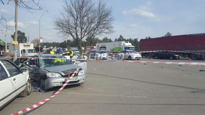 В Киеве произошло тройное ДТП, 8 пострадавших (ФОТО), фото-4