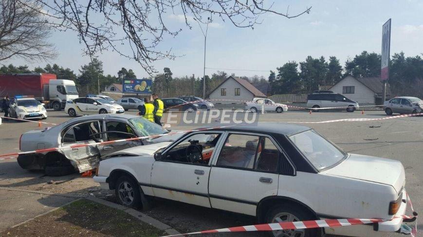 В Киеве произошло тройное ДТП, 8 пострадавших (ФОТО), фото-2