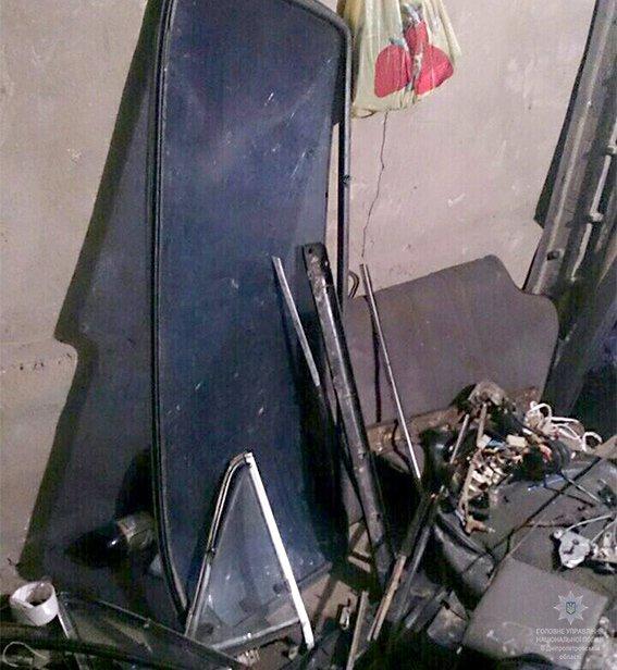 На Днепропетровщине нашли остатки краденного автомобиля (ФОТО), фото-1