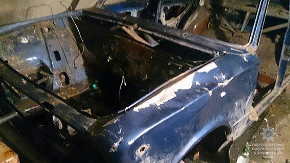 На Днепропетровщине нашли остатки краденного автомобиля (ФОТО), фото-2