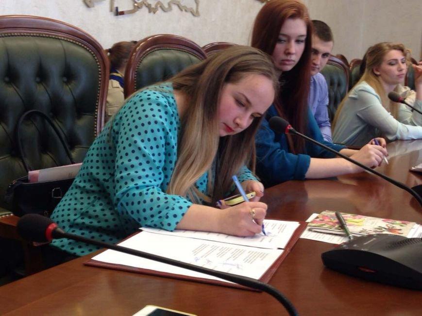 Молодежный совет Каменского и Днепропетровщины подписали меморандум о сотрудничестве, фото-4