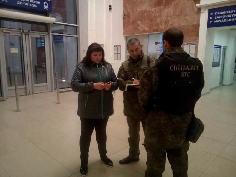 В Краматорске снова «заминировали» вокзал, фото-1
