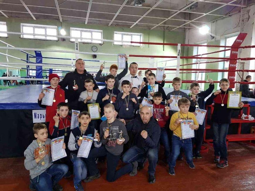 Покровські боксери підтримали мар'їнських спортсменів та прийняли участь у змаганнях, фото-2