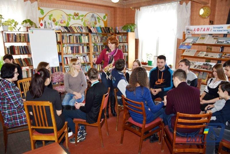 Представители ДонНТУ провели тренинг для старшеклассников соседнего Родинского, фото-2