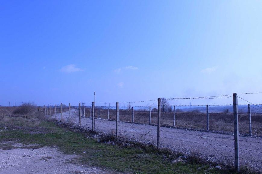 В Каменском горит территория хвостохранилища, фото-12