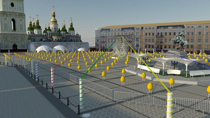 Стало известно, как будет выглядеть центр Киева на Пасху (ФОТО), фото-1