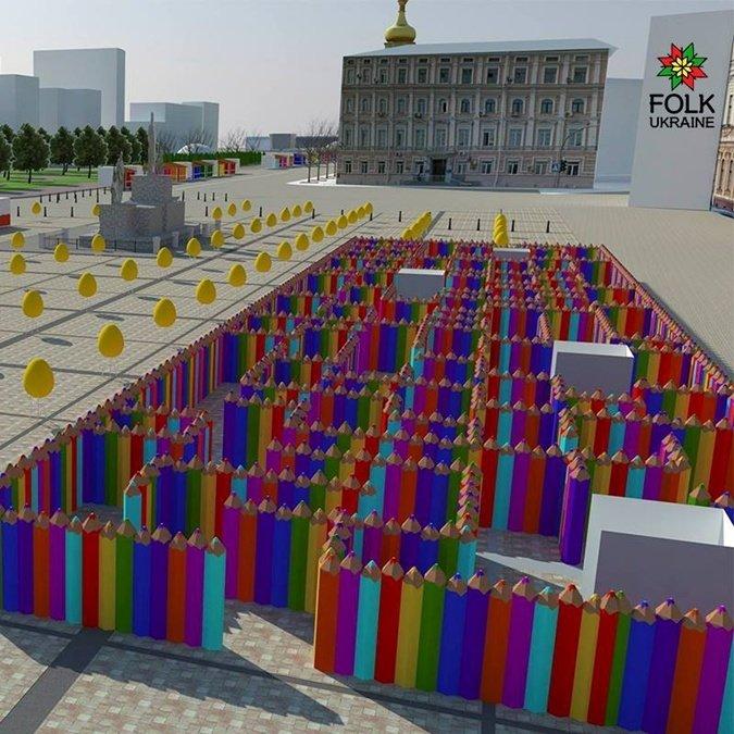 Стало известно, как будет выглядеть центр Киева на Пасху (ФОТО), фото-2
