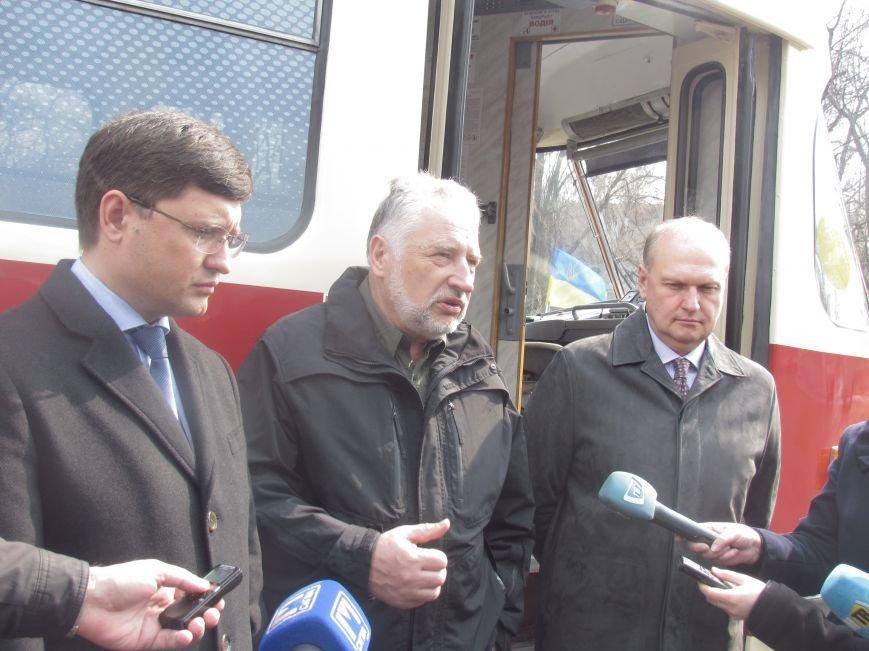 Дождались! Пражские трамваи вышли на маршруты в Мариуполе (ФОТО+ВИДЕО), фото-2