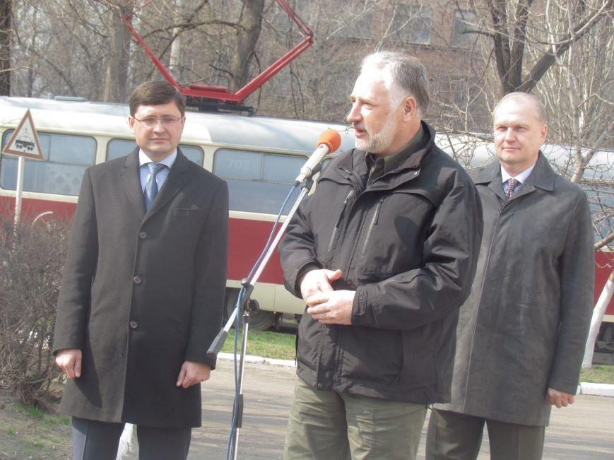 Дождались! Пражские трамваи вышли на маршруты в Мариуполе (ФОТО+ВИДЕО), фото-9