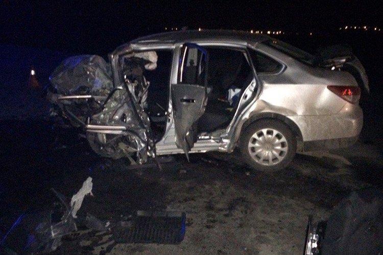 ВБелгородской области вДТП погибли водители 2-х столкнувшихся иномарок