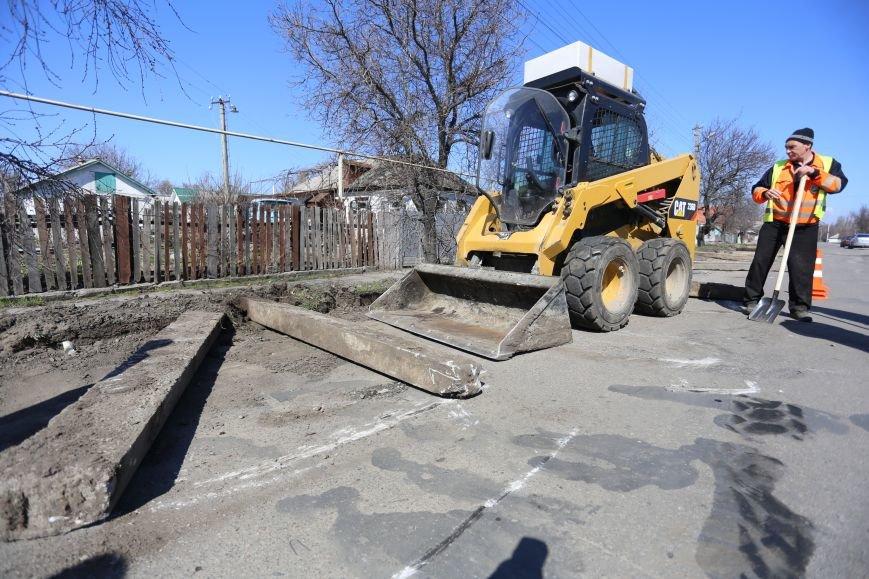 В Кременчуге начался ремонт одной из важнейших автомагистралей города (ВИДЕО), фото-3