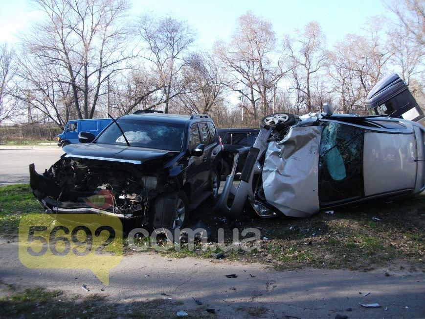 В Каменском на улице Южной произошло ДТП с пострадавшим, фото-3