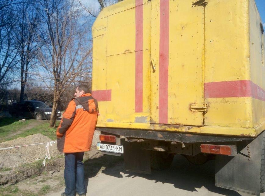 В Каменском снова заблокировали установку коллективного газового счётчика, фото-3