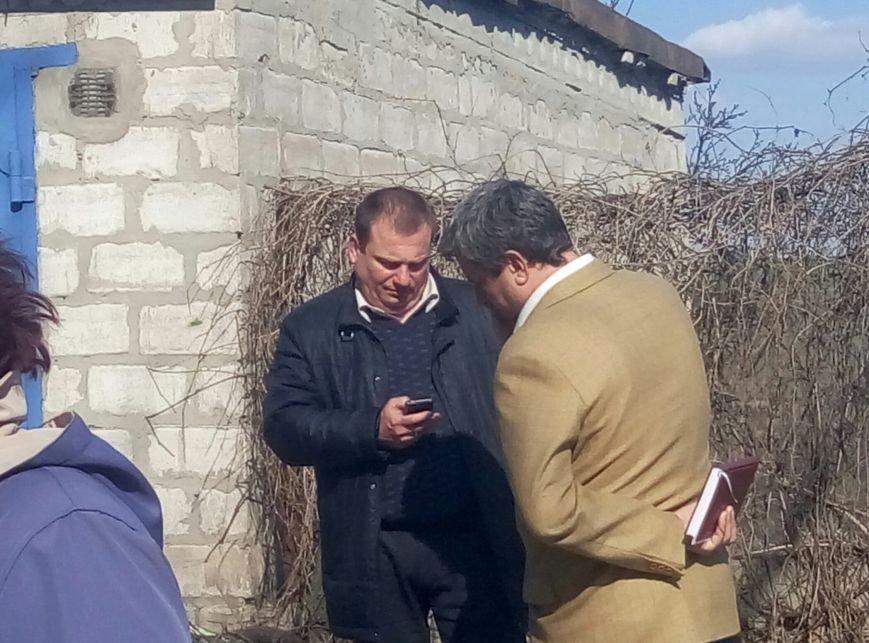 В Каменском снова заблокировали установку коллективного газового счётчика, фото-2