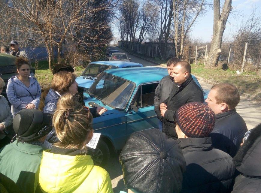 В Каменском снова заблокировали установку коллективного газового счётчика, фото-5