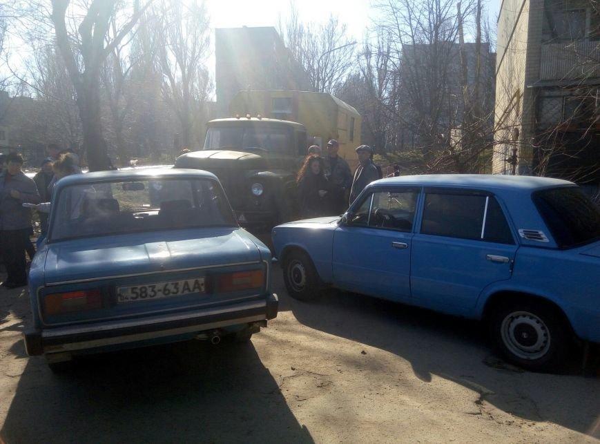 В Каменском снова заблокировали установку коллективного газового счётчика, фото-1