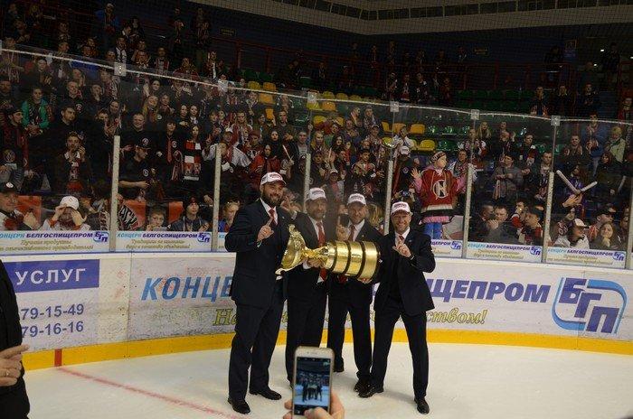 """Хоккейный """"Неман"""" обыграл """"Юность"""" и стал шестикратным чемпионом Беларуси!, фото-43"""