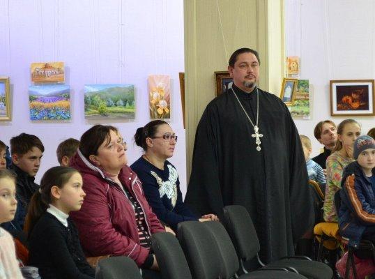 В Черноморске говорили о Гоголе и «духовной лестнице», фото-5